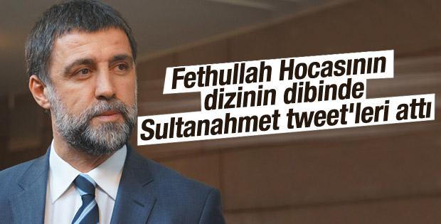 Hakan Şükür'den Sultanahmet tweeti