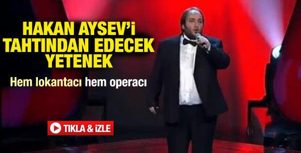 O Ses Türkiye'de Opera sanatçısı geceye damga vurdu
