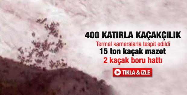 Hakkari'de 400 katırla akaryakıt kaçakçılığı