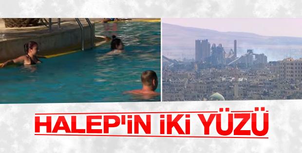 Halep'te iki farklı hayat