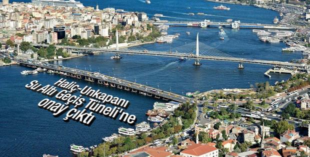 İstanbul'da 2 yeni tünele onay verildi