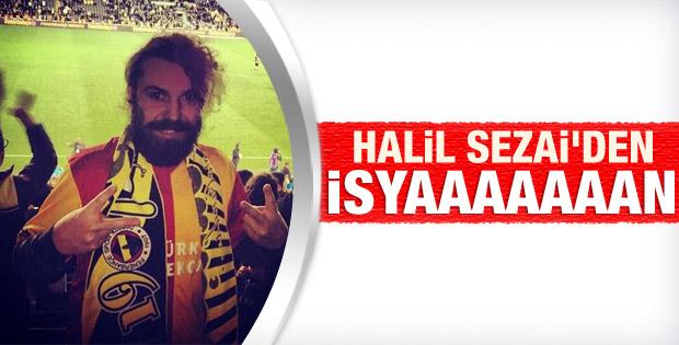 Halil Sezai Galatasaray forması ile Kadıköy'de