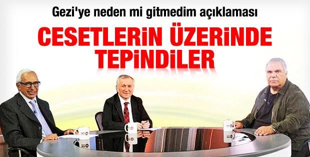 Halil Ergün: Gezi cesetlerinin üzerinde tepiniliyor - izle