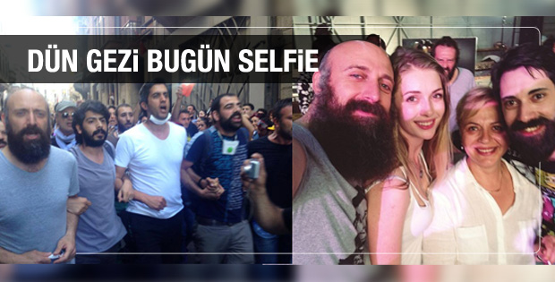 Halit Ergenç Gezi çağrılarına kayıtsız kaldı