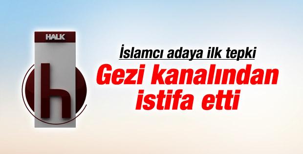 CHP'nin Çatı Aday isminin açıklanmasıyla ilk istifa geldi