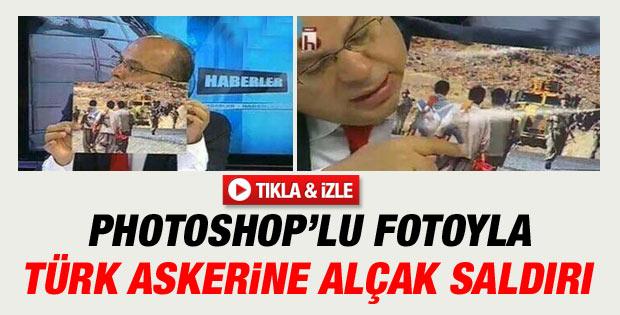 Halk TV'de Türk askerine iftira atıldı İZLE