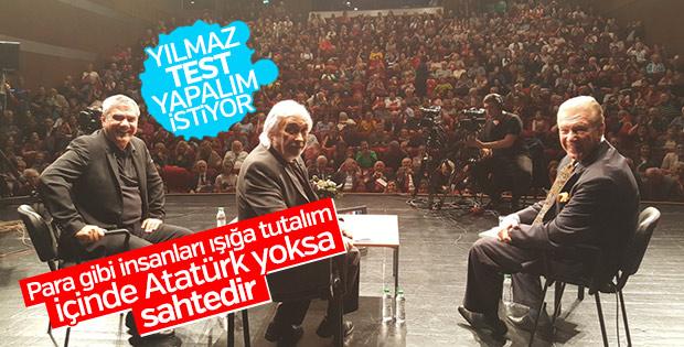 Yılmaz Özdil insanlara Atatürk testi yapılmasını istedi