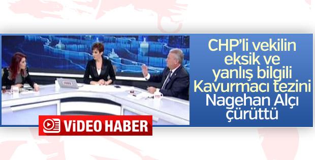CHP'li vekil canlı yayında yanlış bilgi kurbanı oldu