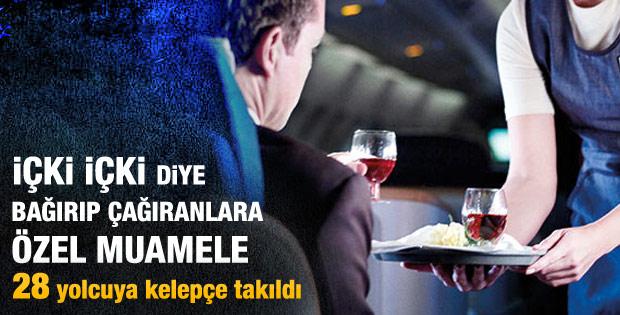 Hamdi Topçu: 28 alkollü yolcuya kelepçe taktık