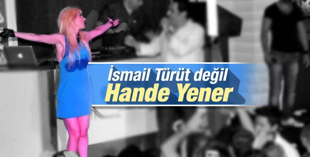 Hande Yener sahnede kan ter içinde kaldı