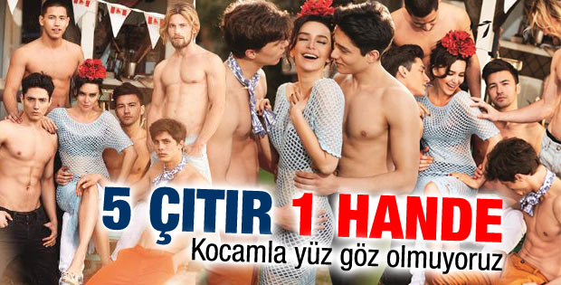 Hande Ataizi: Kocam ile fazla yüz göz olmuyoruz