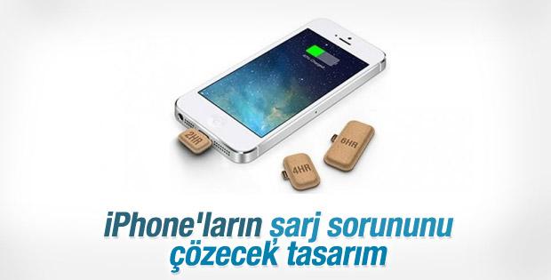 iPhone'ların şarj sorununu çözecek tasarım: Hap batarya