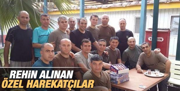 IŞİD'in elindeki özel harekatçılar