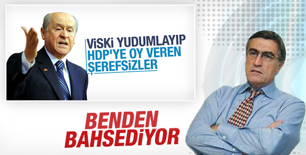 Hasan Cemal: Yalım var viski içerim HDP'liyim