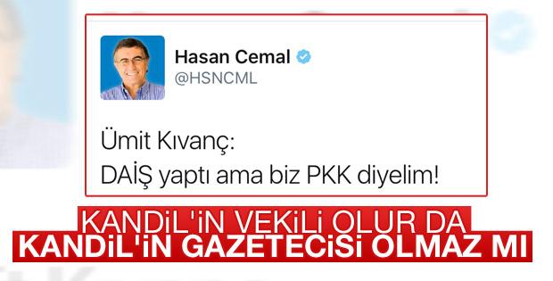 Hasan Cemal PKK'ya rağmen PKK'yı aklıyor