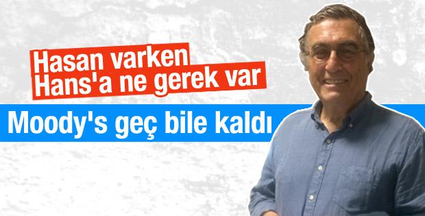 Hasan Cemal'den Moody's yorumu