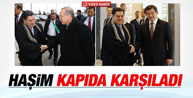 Cumhurbaşkanı Erdoğan yeni AYM üyesinin yemin töreninde