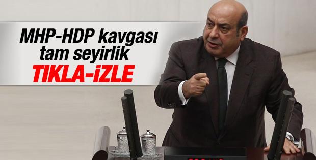 HDP'li Hasip Kaplan ile MHP'li Yeniçeri'nin Cizre tartışması