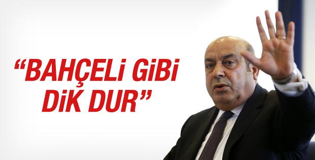 Hasip Kaplan'dan Kılıçdaroğlu'na: Bahçeli gibi dik durun