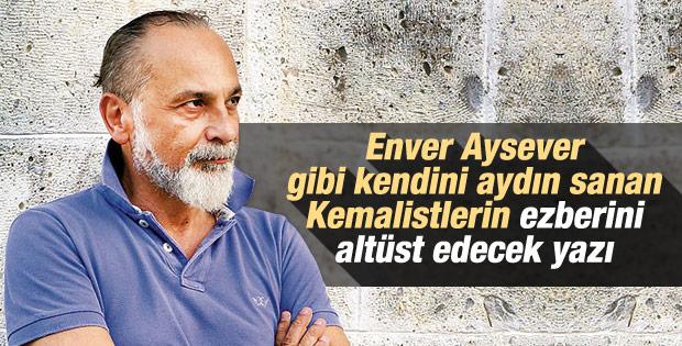 Haşmet Babaoğlu'ndan Enver Aysever'e: Cahil aydın