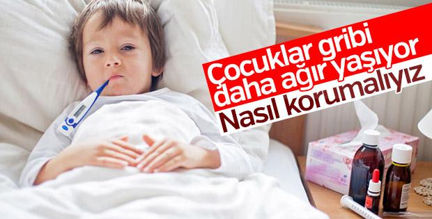 Çocuklarda grip beyin zarı iltihabını tetikliyor