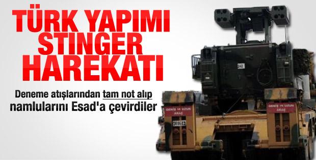 Hatay'a Türk yapımı savunma kalkanı