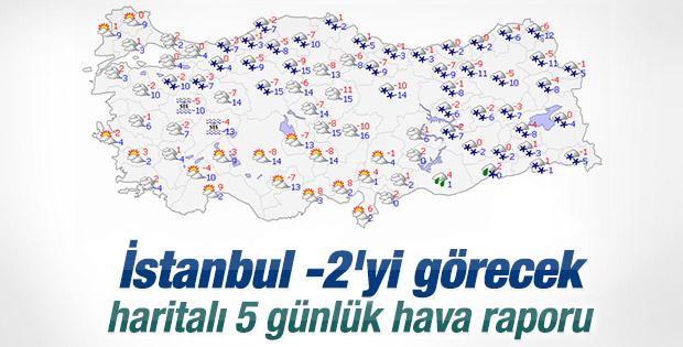 Marmara ve Ege donacak