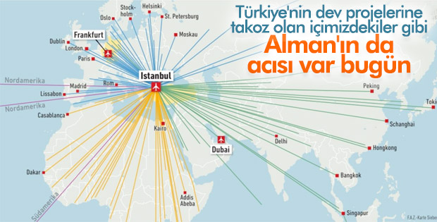 Almanların gözü İstanbul'daki açılışta