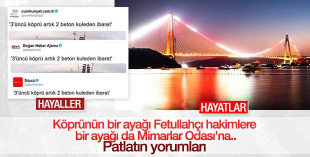 3. Köprü karşıtlarının çabaları boşa çıktı