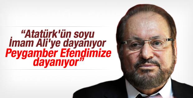 Haydar Baş: Atatürk'ün soyu Peygamber'e dayanıyor