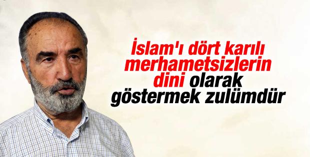 Hayrettin Karaman'dan İslam'ı kötü gösterenlere tepki