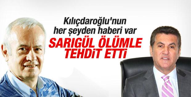 İnönü: Kılıçdaroğlu'na Sarıgül'ün tehditini anlattım