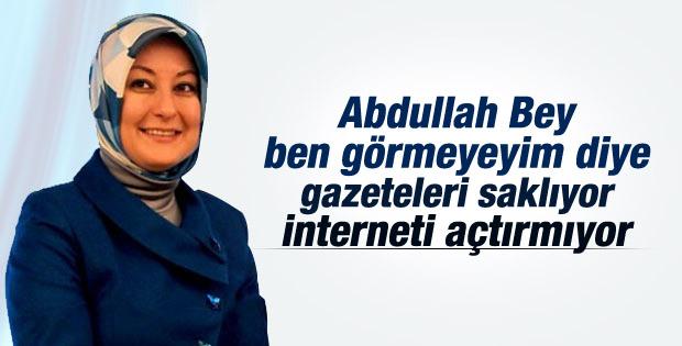 Hayrünnisa Gül: Abdullah Bey gazeteleri benden sakladı