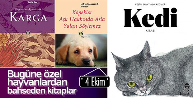 Hayvanlardan bahseden kitaplar