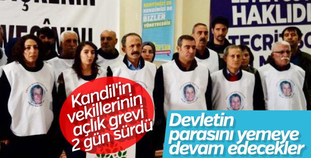 HDP'lilerin Abdullah Öcalan eylemi kısa sürdü