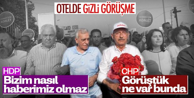 Kemal Kılıçdaroğlu ile Ahmet Türk'ün gizli görüşmesi