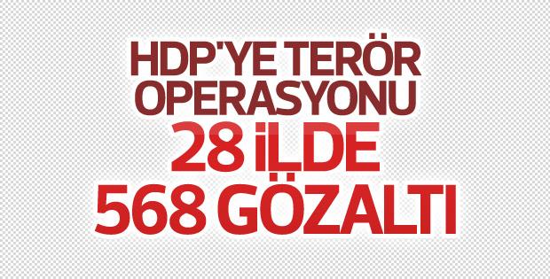 İçişleri Bakanlığı: 28 ilde 568 kişi gözaltına alındı