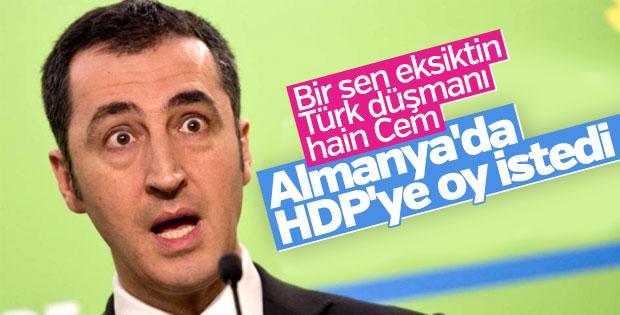 Cem Özdemir HDP'ye oy istedi
