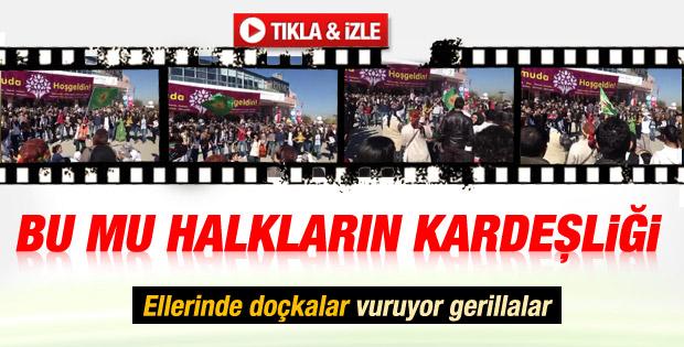 HDP kongresi önünde Apocu Marşı - izle
