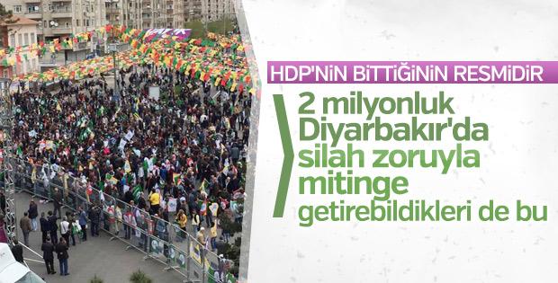 HDP, kalesi Diyarbakır'da hüsrana uğradı