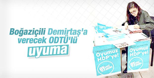 Boğaziçi'nde HDP standı