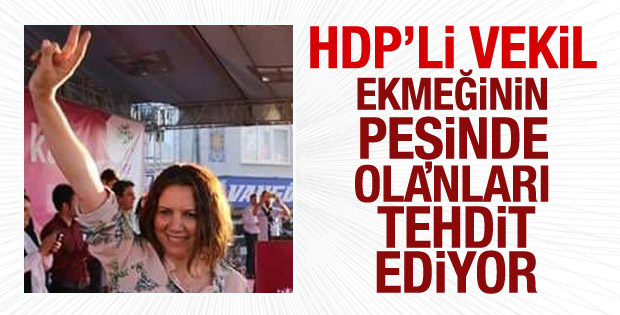 HDP'li vekil Selma Irmak'ın kayyum tehdidi