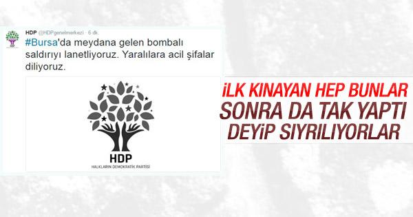 HDP Bursa'daki saldırıyı kınadı