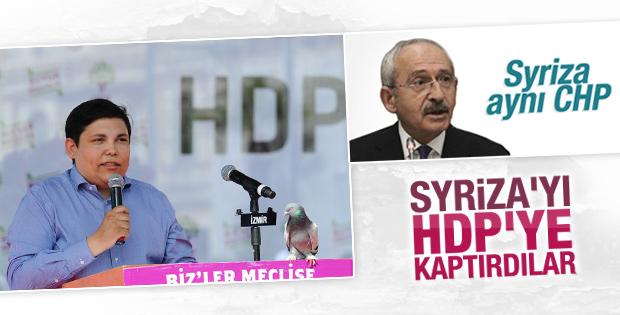 HDP'nin İzmir mitingine Syriza desteği