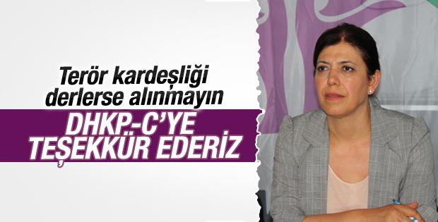HDP'den DHKP-C'ye teşekkür