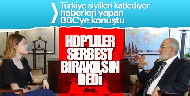 Temel Karamollaoğlu'na göre HDP'liler tutuklanmamalı