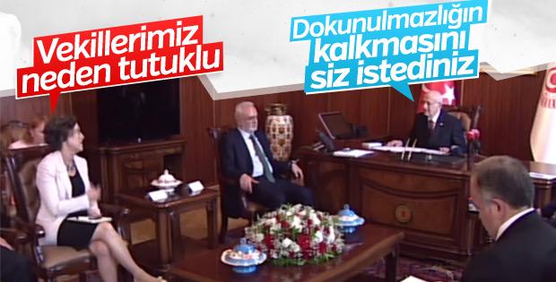 HDP'li vekil geçmişini unutarak dokunulmazlıkları sordu
