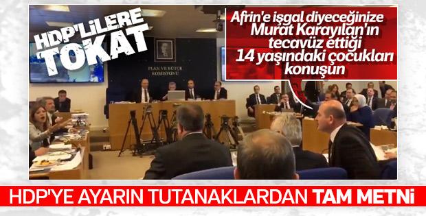 Meclis'teki gerilimin sebebi HDP'li vekiller