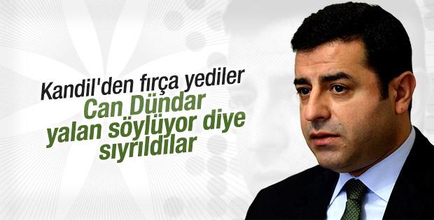 HDP PKK'ya ateşkes çağrısı yapılacak haberini yalanladı
