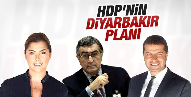 HDP Diyarbakır'da sürpriz isimleri aday gösterebilir